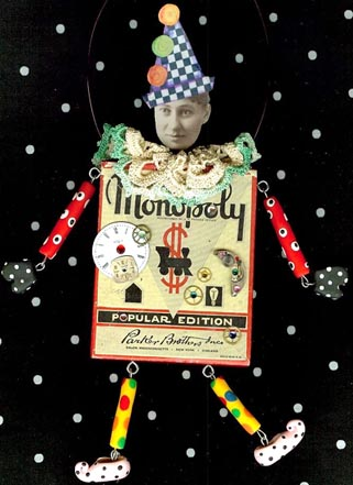'Monopoly' Art Doll