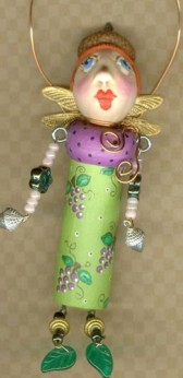 'Nature Fairy', Fimo art dolls,