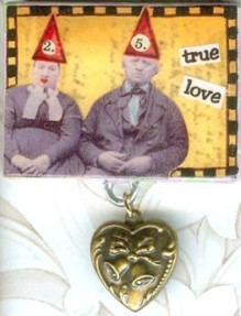 Collage Pin 'True Love'