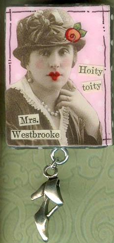Collage Pin 'Hoity Toity'