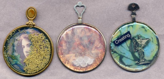 Brenda Volpe, USA, optical pendants