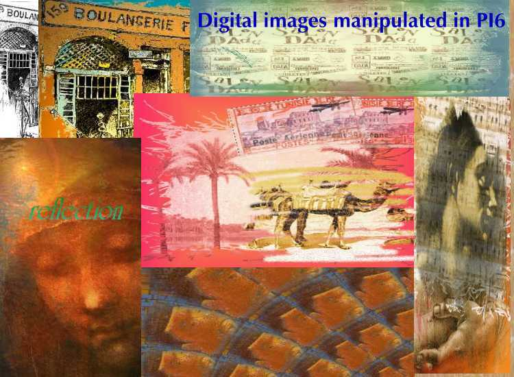 digitally manipulated images