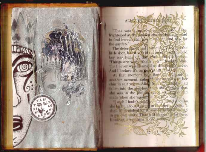 Gillian /antique book within a new book
