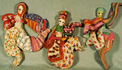 bread sculpture dolls