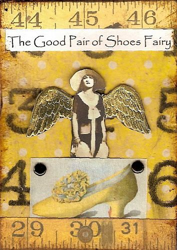 The Good Pair of Shoes Fairy, atc