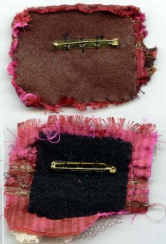 Brooch Backs