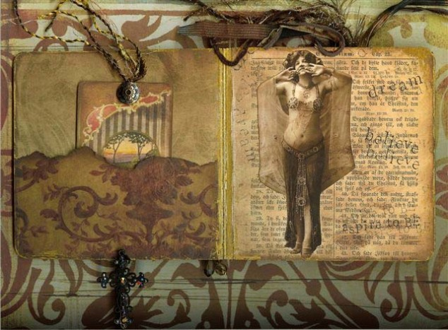 Altered book pg 2