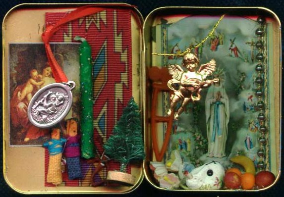 Cynthia Weed/altoid shrine