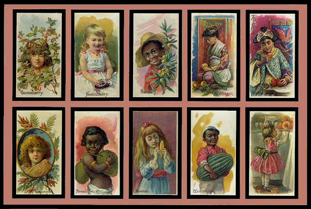Vintage set of cards, sent in by G Allen