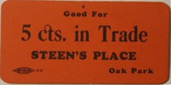 Vintage Ticket, sent in by G Allen