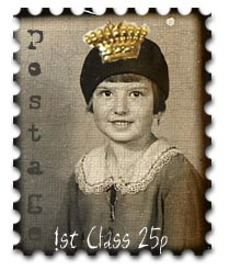 photo booth photo stamp digi collaged crown