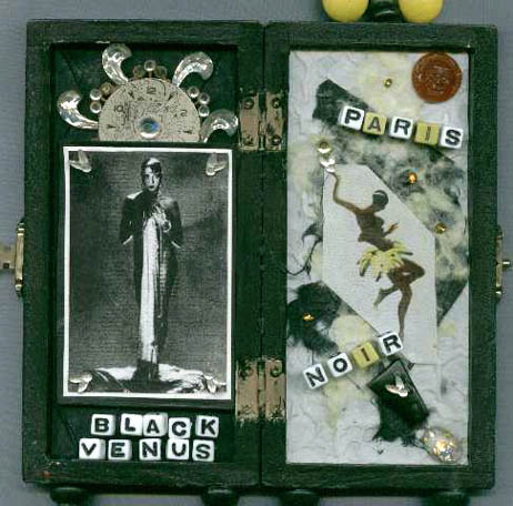 Meg Greene Malvasi, cigarette box shrines