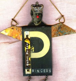 Assemblage doll : Princess