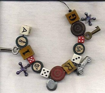 Cathleen Perkins, Game Pieces Bracelet