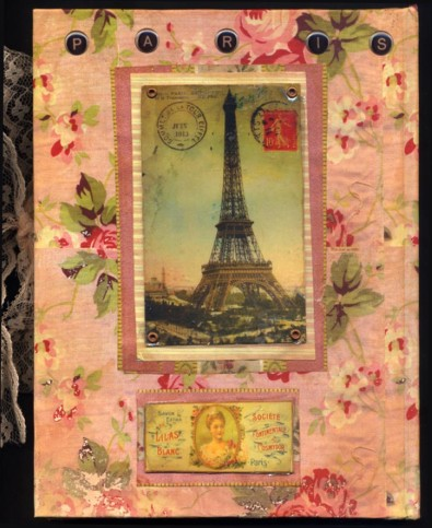 Paris Journal Back