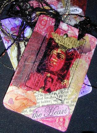 Heather Cockrell/Altered Card