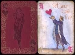 Patti Sandeham, Secret Valentine Playing Card