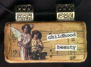 childhood beauty charm