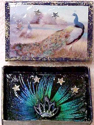 match box shrines from Jewel (aka magpie moon) in Arizona