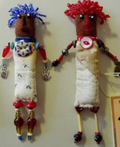 primitive quilted dolls