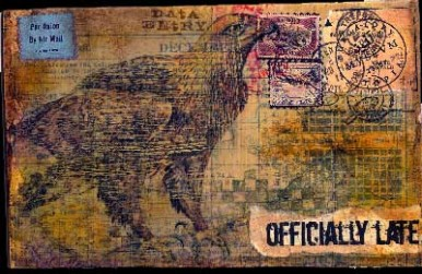 Claudia Roulier, Mail Art
