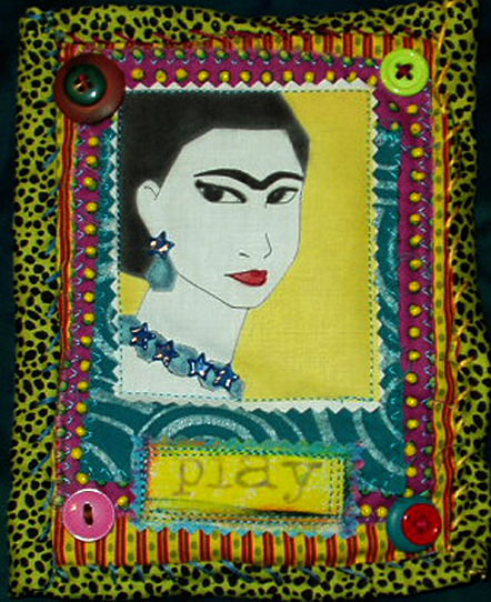 Fabric Quilt. Frida Play