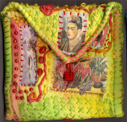 Belinda Schneider, Germany. Frida Purse front