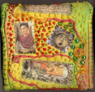 Belinda Schneider, Germany. Frida Purse back