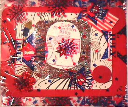 Susan Stockham/ card in printed wrapper