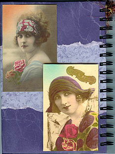 Barbara Maynard, journal covers