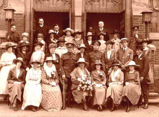 Granny's wedding June 1918 from Maureen Blackman