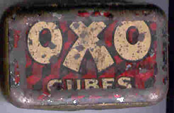 vintage oxo tin, sent in by Liz Smith