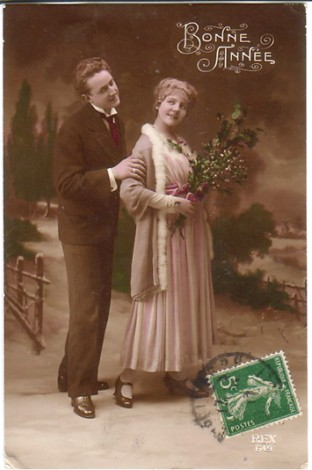 Vintage Postcard sent in by Kim Skinner in NSW Australia