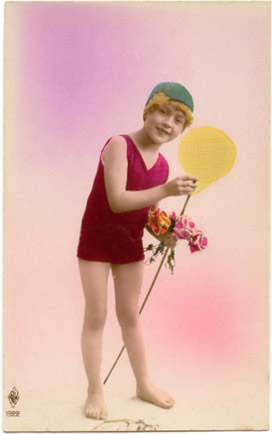 Tracy Roos,Vintage image,1920's child
