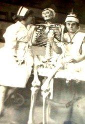 Vintage Photo, weird nurses
